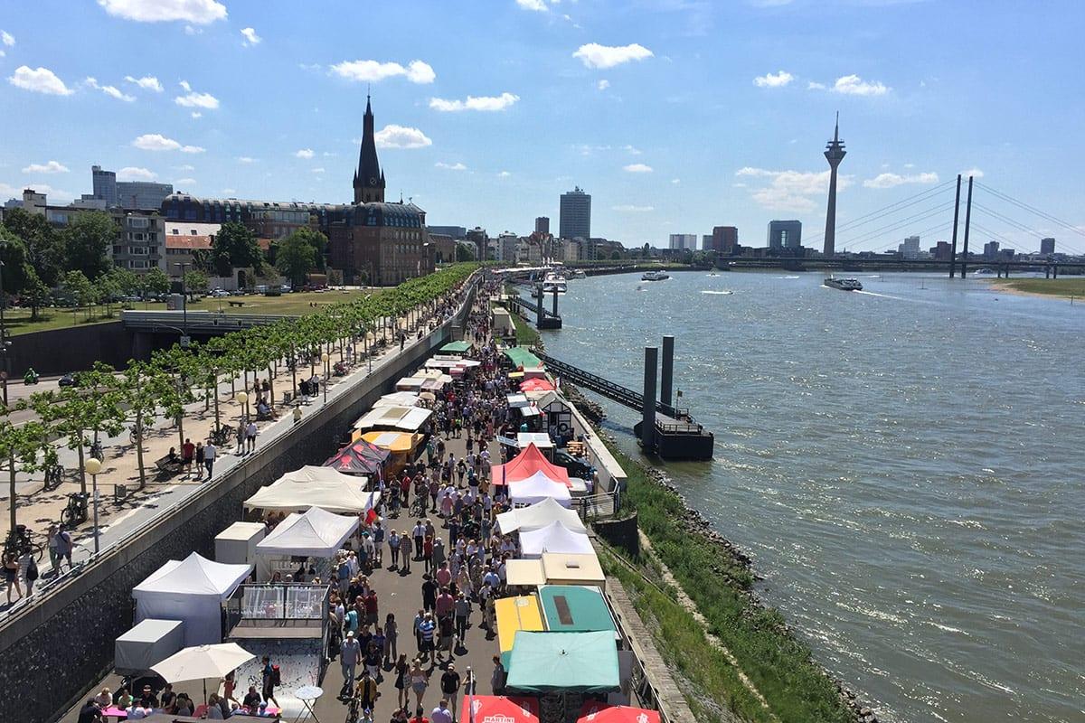 Fischmarkt Düsseldorf 2019